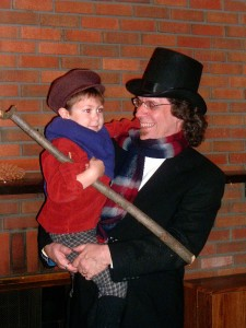 Bob Cratchit and Tiny TimZ