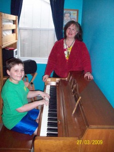 Student receives free piano from the BCPAI