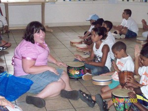 Early Childhood Music Class At The YWCA