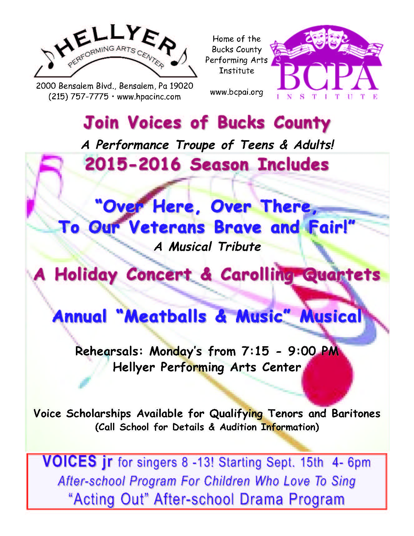 VOICES 15-16 Flier